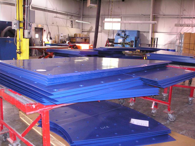 Fabricated TIVAR 88 Lining Kits