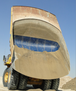 TIVAR 88 Lined Dump Truck