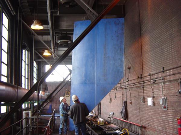 Oversized Butt Welded TIVAR 88 Panels