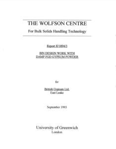 Wolfson FGD Gypsum PDF
